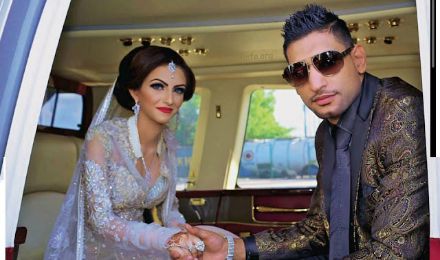 Boxer Amir khan divorced her wife faryal makhdoom for cheating him