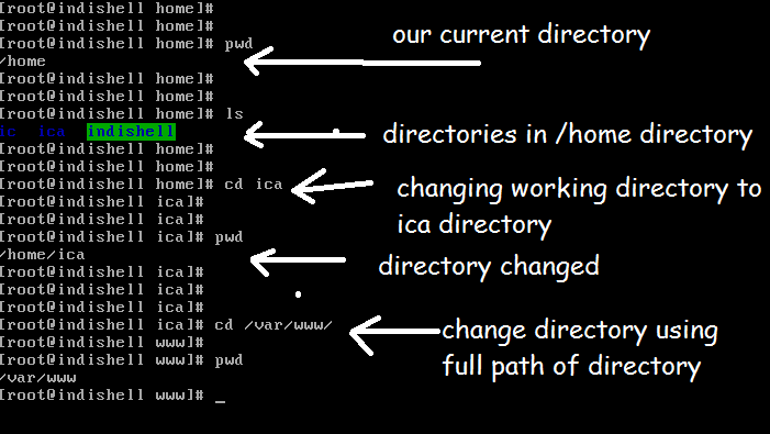 some basic commands that we use in linux | Start With Linux