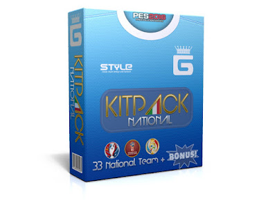 PES 2016 New KitPack National AIO Update v3.3 by G-Style