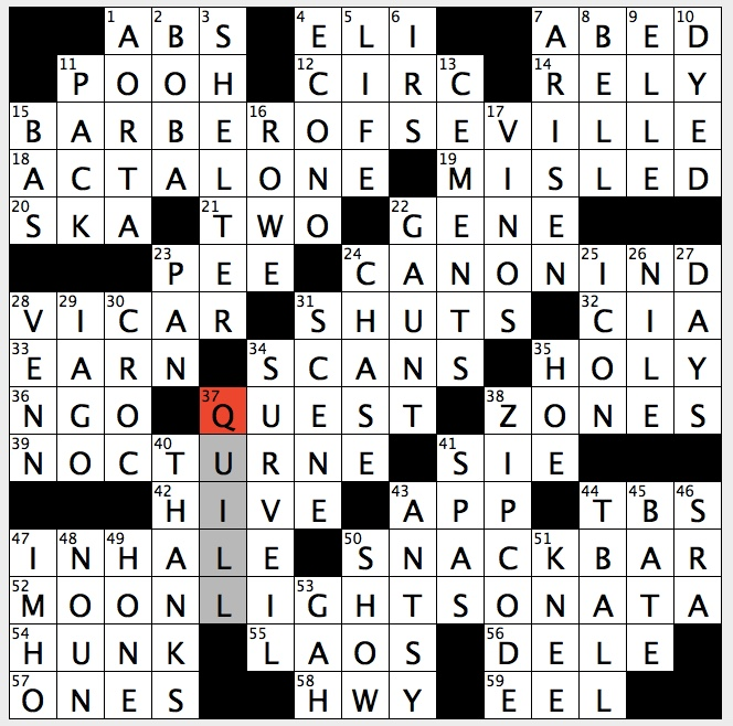 Rex Parker Does The Nyt Crossword Puzzle Lowest Broadcast Tv