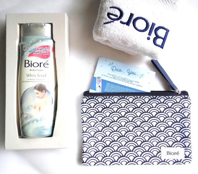 Biore White Scrub