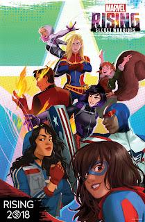 Marvel's New Animated franchise, 'Marvel Rising'