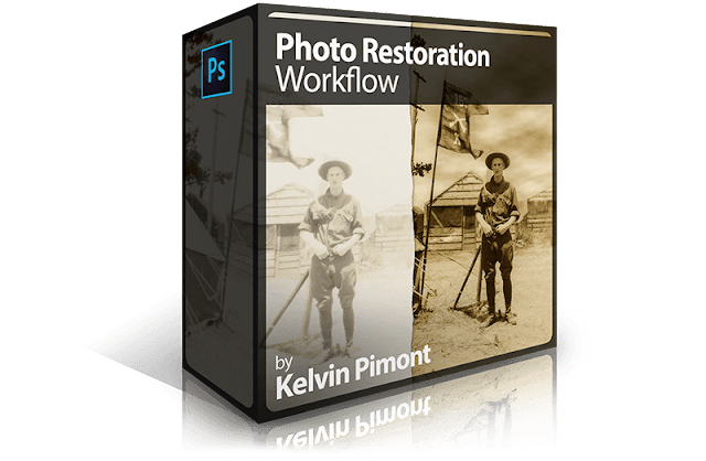Photo Restoration Workflow