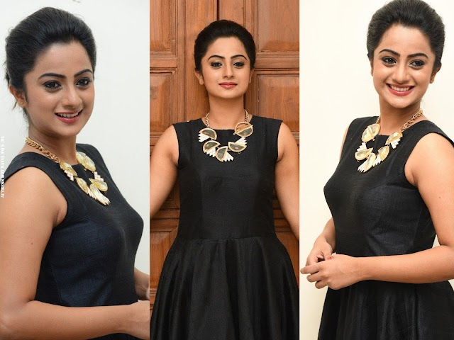 Namitha Pramod Hot Photos in Sleeveless Dress