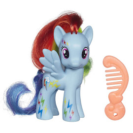 MLP Neon Single Wave 1 Rainbow Dash Brushable Pony