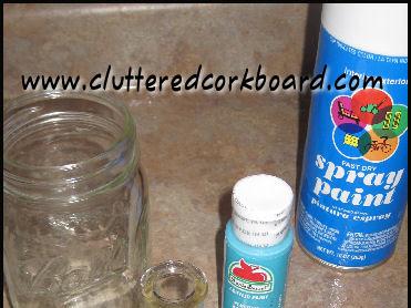 DIY glass base for Jars or Votives