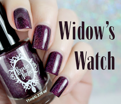 Powder Perfect Widow's Watch