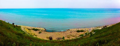 Beach at Concordia University - Mequon Wisconsin