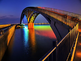 Amazing Rainbow Bridge Taiwan