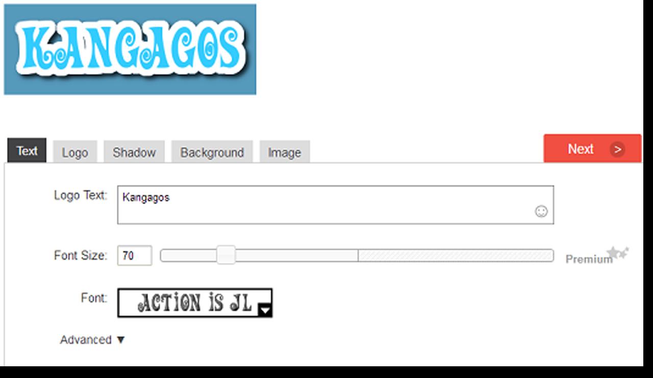 Membuat Logo Header Secara Online