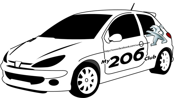 My206Club: My206Club New Logo 2012