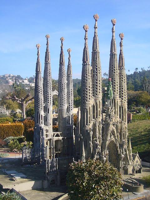 Atrações com miniaturas pelo mundo - Catalunya en Miniatura, Torrelles de Llobregat (Espanha)