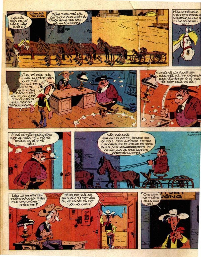 Lucky Luke tap 2 - ke san tien thuong trang 16
