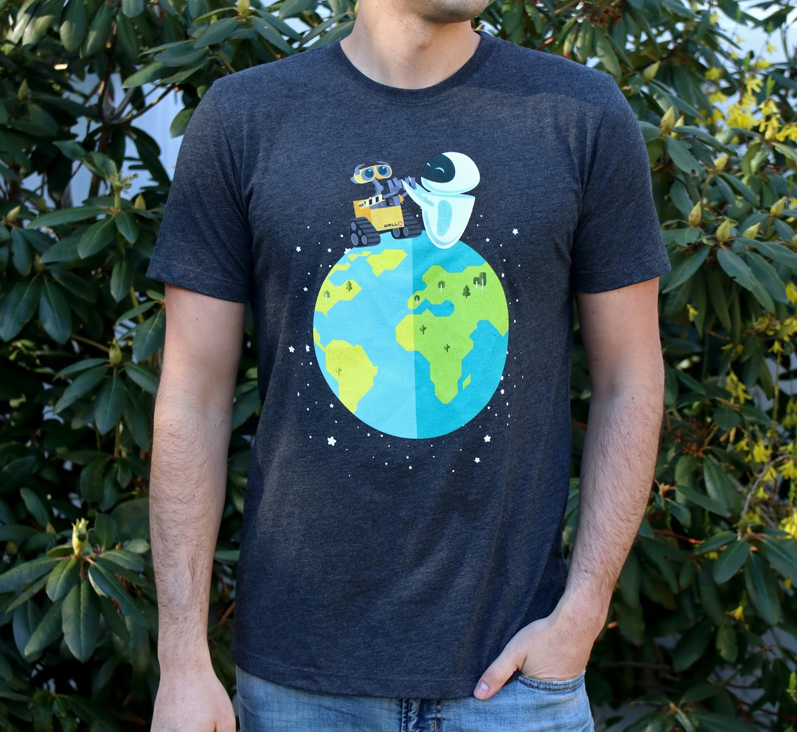 Wall·E & Eve Earth Day 2018 T-Shirt BoxLunch Exclusive