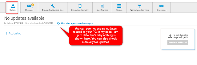 How To Use HP Support Assistant To Fix Laptop Problems by www.techrajput.com