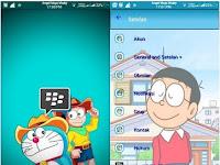 Download BBM MOD Doraemon V3 Transparant 3.0.1.25 Terbaru