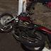 Bombeiros sem ambulância atendem apé grave acidente em Laranjeiras do Sul