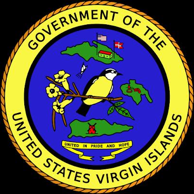 Coat of arms - Flags - Emblem - Logo Gambar Lambang, Simbol, Bendera Negara Kepulauan Virgin Amerika Serikat