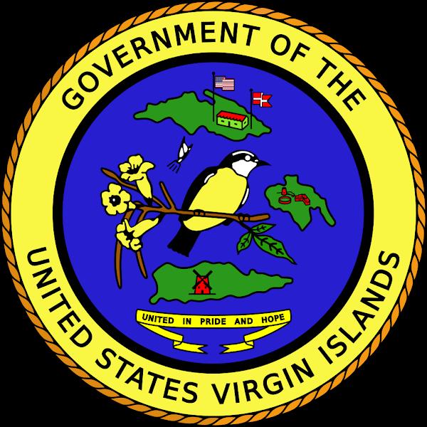 Logo Gambar Lambang Simbol Negara Kepulauan Virgin Amerika Serikat PNG JPG ukuran 600 px