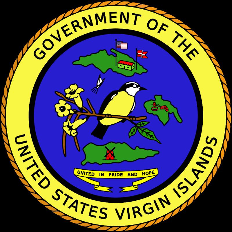 Logo Gambar Lambang Simbol Negara Kepulauan Virgin Amerika Serikat PNG JPG ukuran 800 px