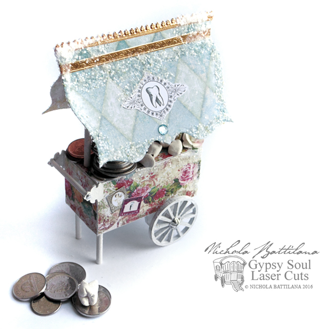Tooth Fairy Cart with Tutorial - Nichola Battilana