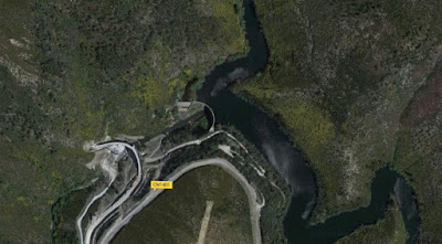 Barragem do Alto Ceira - google maps