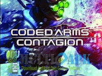 Coded Arms Contagion PPSSPP ISO CSO Game PSP English