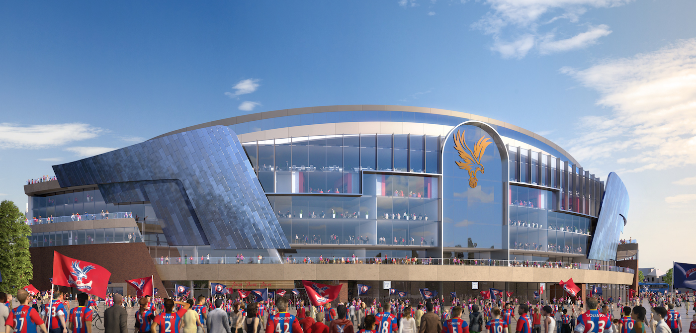crystal palace progetto main stand