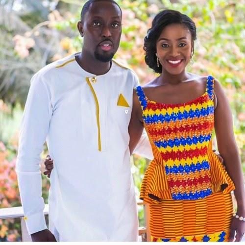 Ghanaian Traditional Wedding: Beautiful Ghana Traditional Wedding Dresses & Design