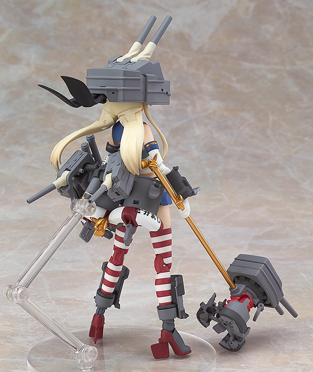 Alloy Shimakaze figure