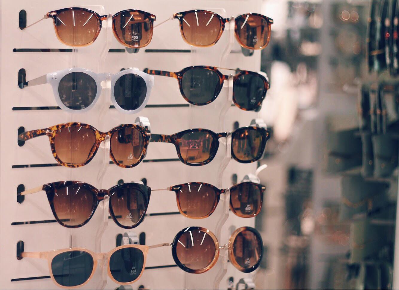 cc2ac08119f9f A minha vontade era de trazer todos (ou quase!) os óculos de sol da loja
