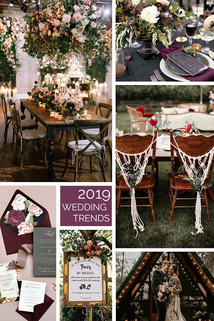 wedding trends, weddings, wedding decor, macrame, boho wedding, style, flower arrangements