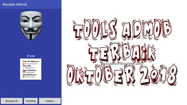 Tools Admob Terbaik Oktober 2018