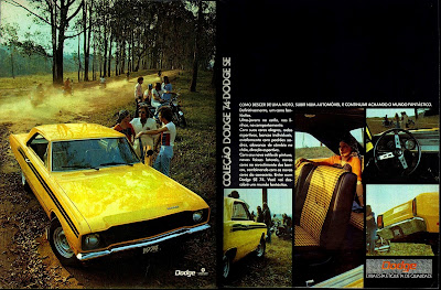 propaganda Chrysler Dodge SE 74 - 1973 - Chrysler Advertising 1973