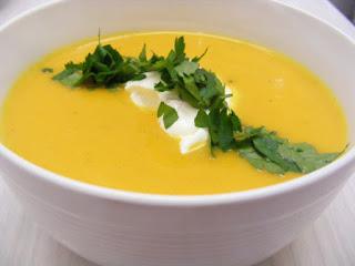 Creamy Sweet Potato Soup (Kremali Tatli Patates Corbasi)