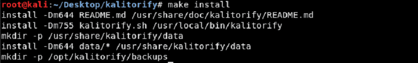 KaliTorify: Setup A Transparent Proxy  Through Tor in Kali Linux
