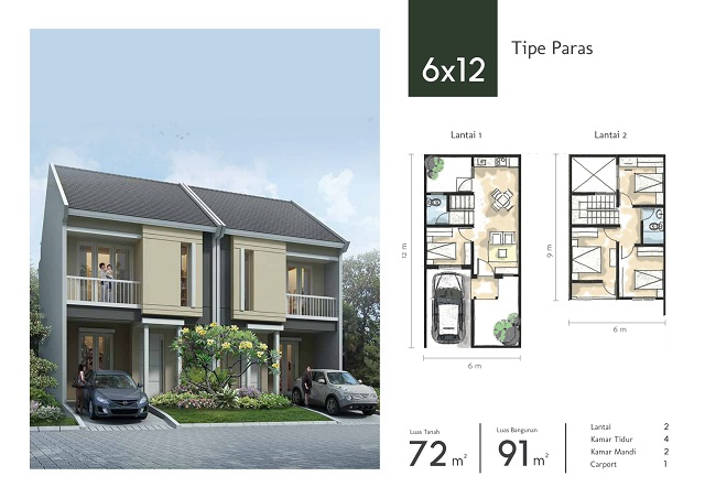 Tipe Paras 6x12 Synthesis Homes