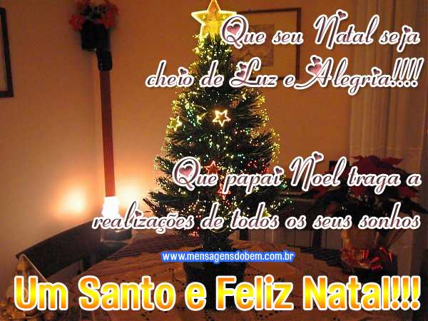 Mensagens De Natal: Mensagens Lindas: Frases De Feliz Natal