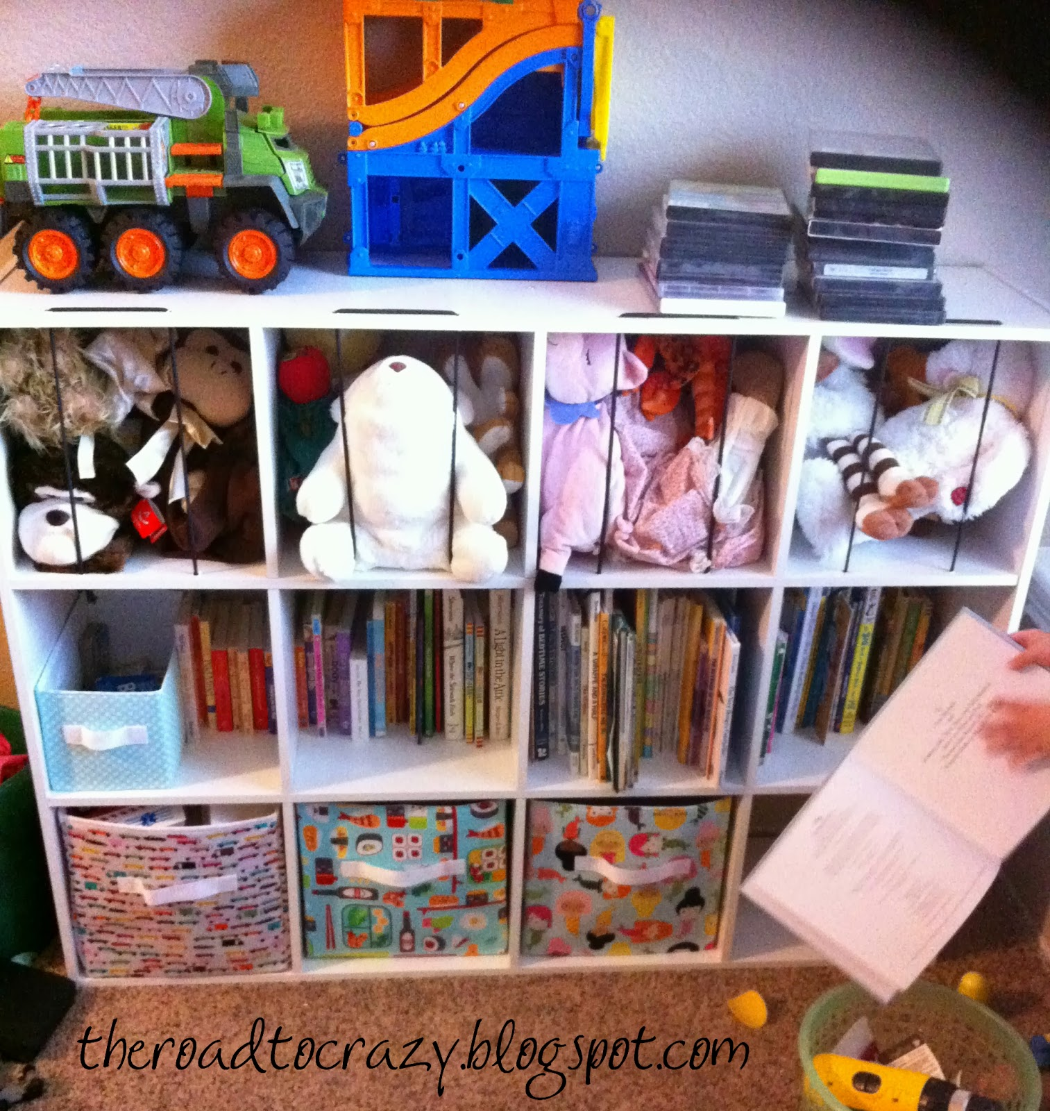Stuffed Animal Toy Storage: The Road To Crafty: Toy Storage Part 1