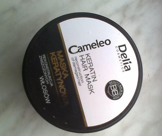 Delia, Cameleo BB, Maska keratynowa do włosów - skład, opis, opinia