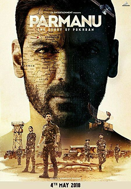 Parmanu 2018 Hindi 720p 1.1GB WEBRip AC3 ESubs MKV