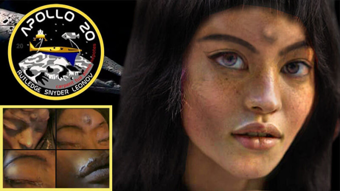 Mona Lisa, the Alien Girl Apollo 20 Found on the Moon ...