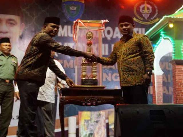 Kecamatan Batabual Raih Juara Umum MTQ ke 13 Kabupaten Buru