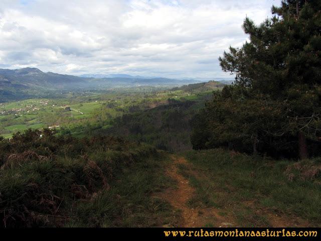 Ruta Torazo, Pico Incos: Descendiendo por la arista del Incos