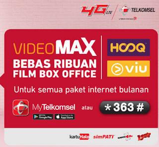 cara menggunakan mengaktifkan memakai kuota video max telkomsel