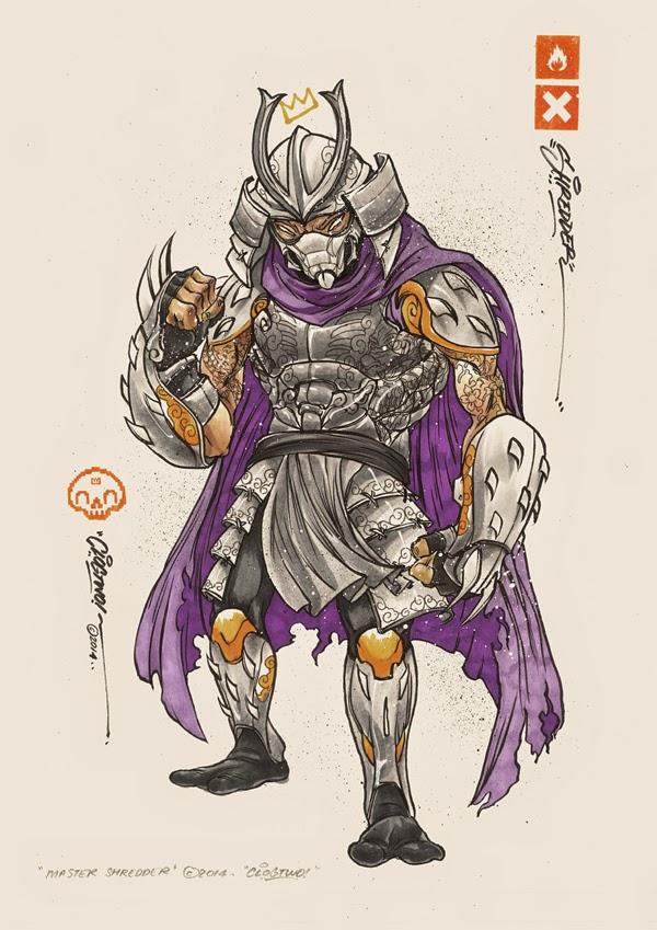 Fan Art de las Tortugas Ninja Mutantes