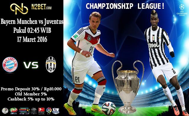 PREDIKSI BOLA EURO - LIGA CHAMPIONSIP Bayern Munchen vs Juventus
