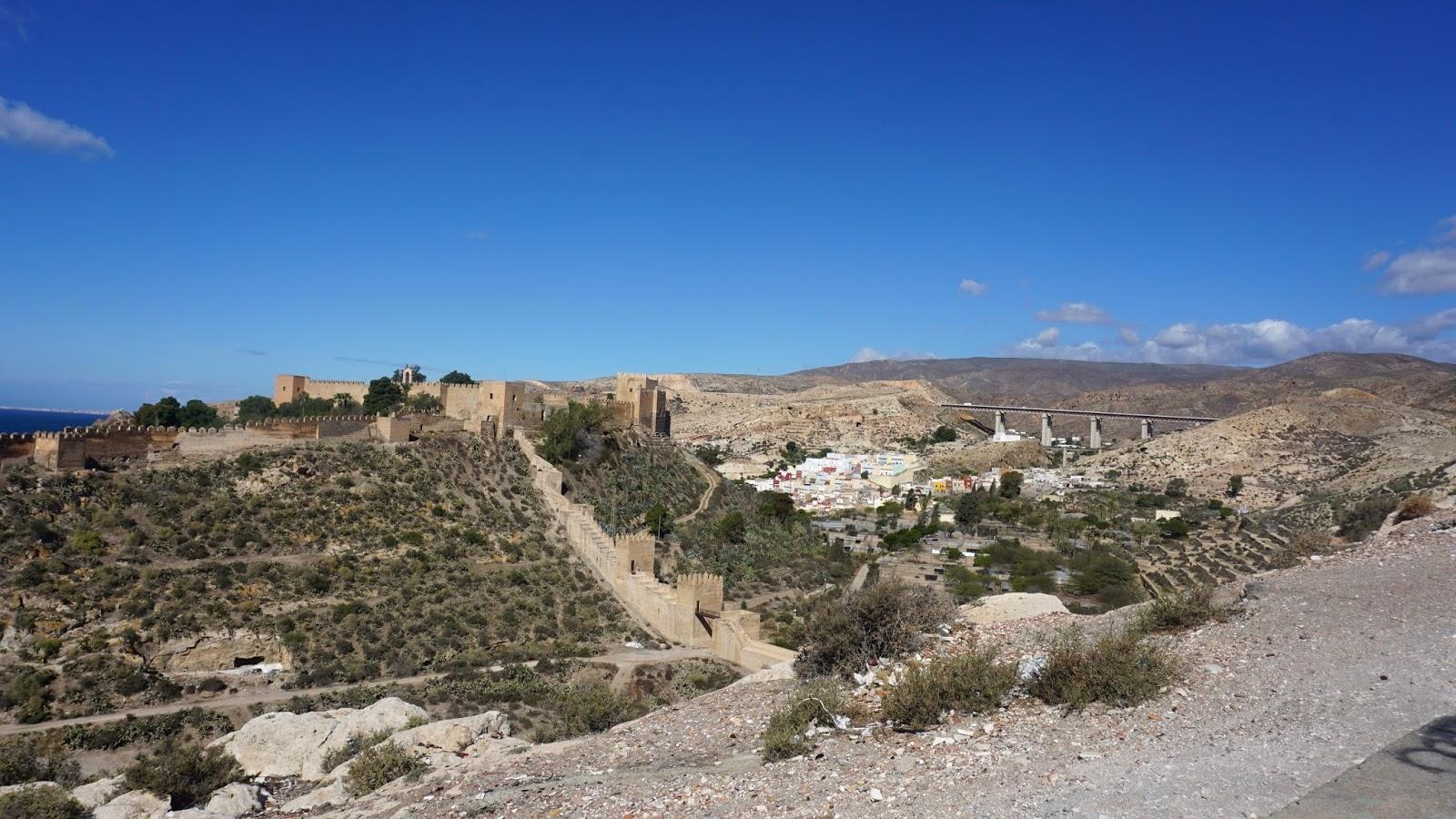 zamek Alcazaba, Almeria, południowa Hiszpania