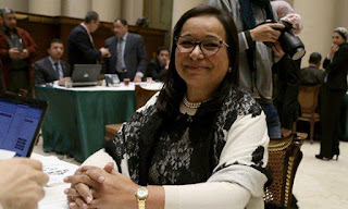 Egyptian MP Anisa Hassouna narrates her story with cancer