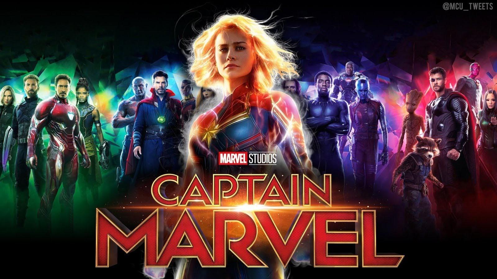 Capita Marvel Ocupara Uma Posicao De Frente No Ucm E Abrira Espaco